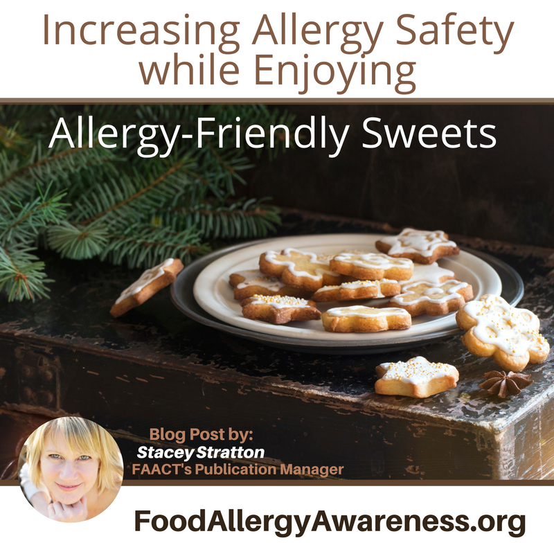 Increasing Allergy Safety while Enjoying Allergy-Friendly Sweets